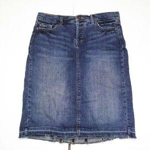 Mossimo pensil low raise skirt